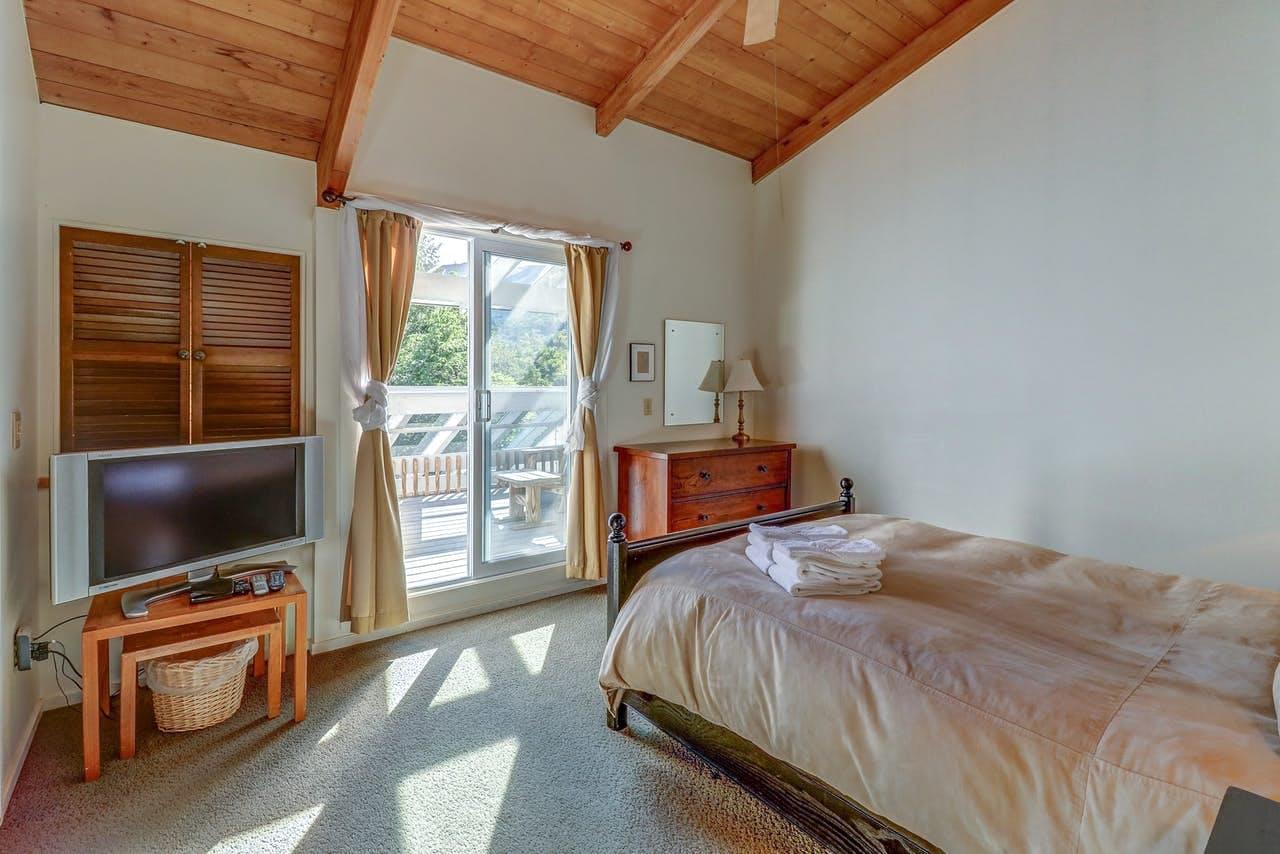 Interior of vacation rental in Warren, VT