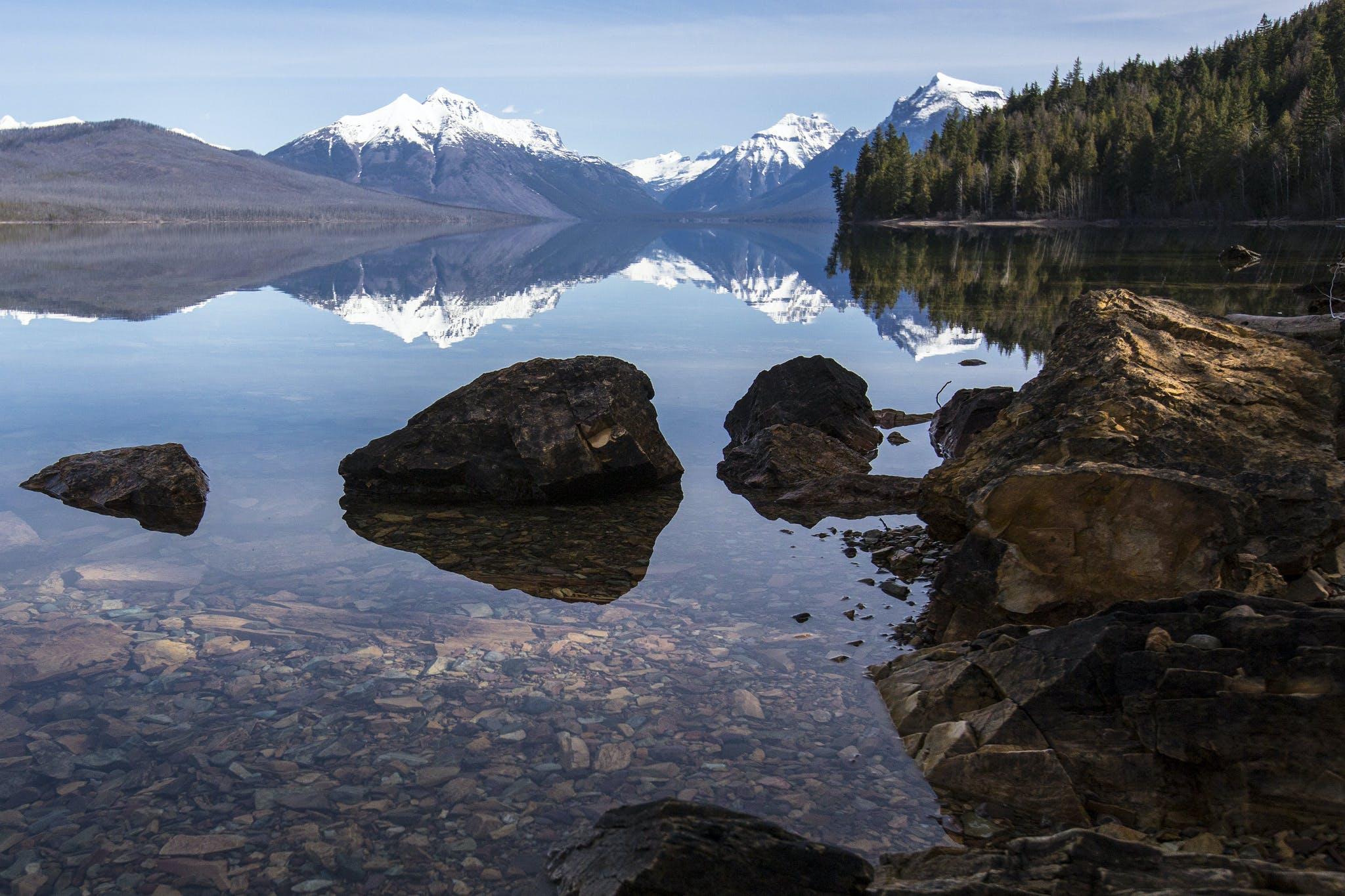 Lake McDonald in Glacier National Park