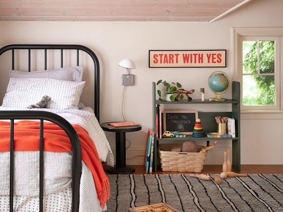 Swedish Stuga vacation rental bedroom