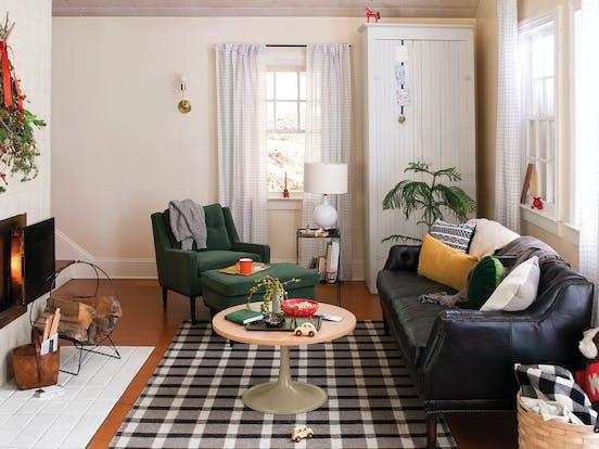 Swedish Stuga vacation rental living area
