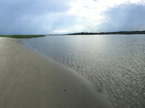 Seabrook Island, SC coastline