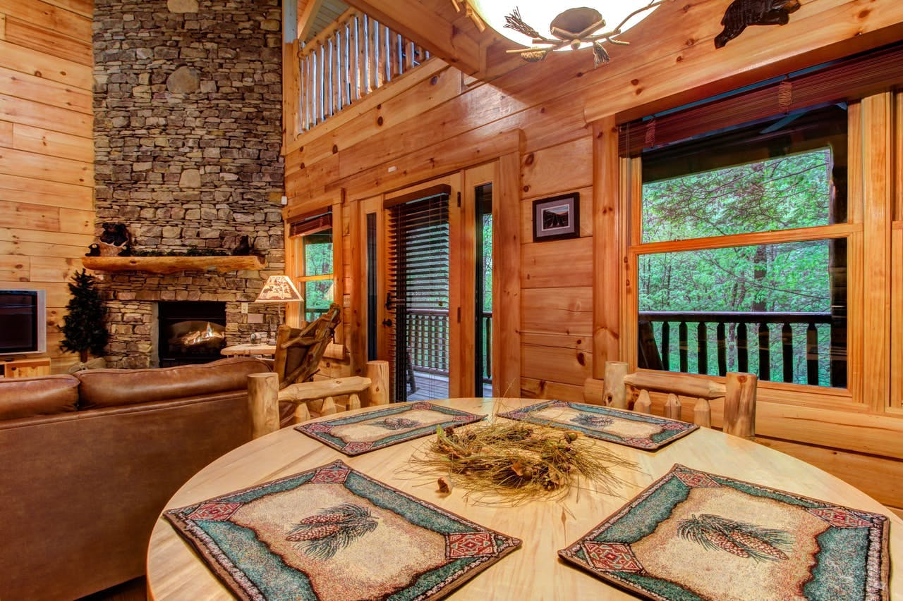 Serenity Cabin in the Smoky Mountains