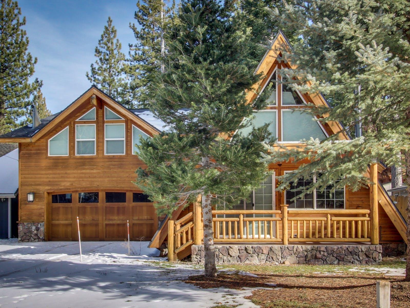 south lake tahoe a-frame cabin rental