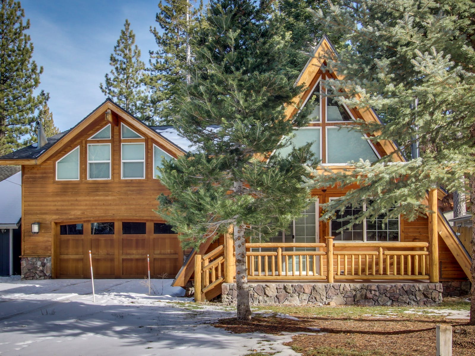south lake tahoe a-frame cabin rental