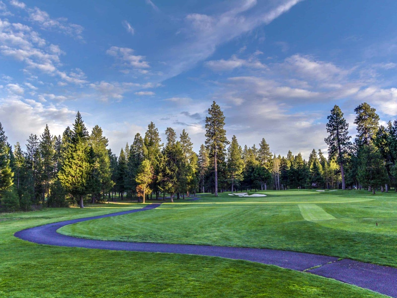 Golf course located in Sunriver