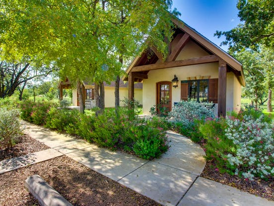 Private cottage at Messina Hof Hill Country