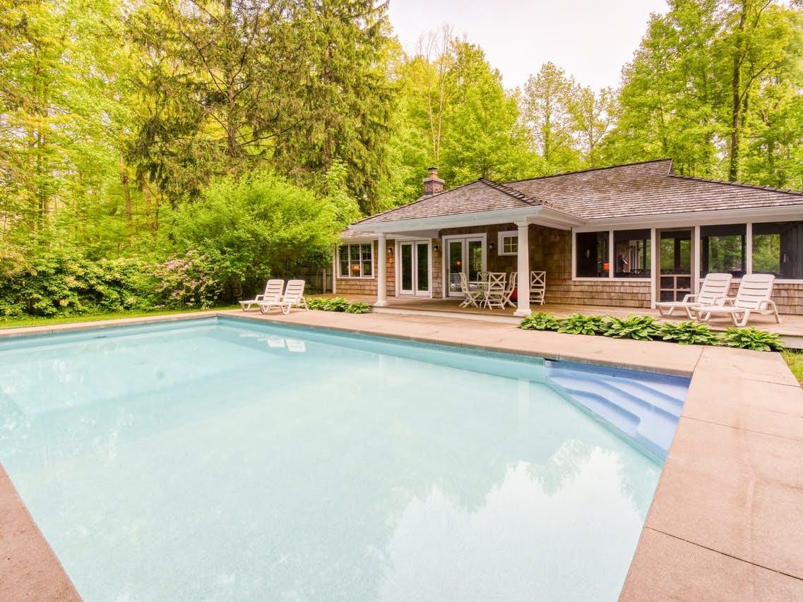 Harbert, MI vacation rental with outdoor pool