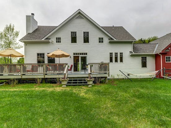 Windham, VT vacation home with large backyard and deck