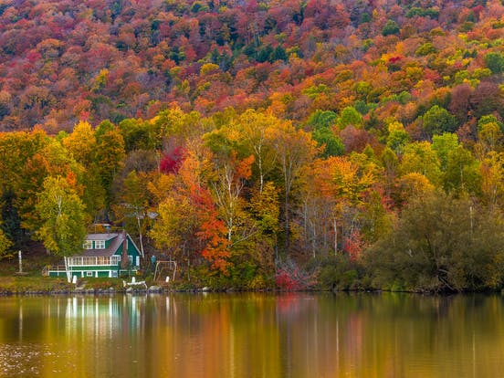 Fall colors in Vermont