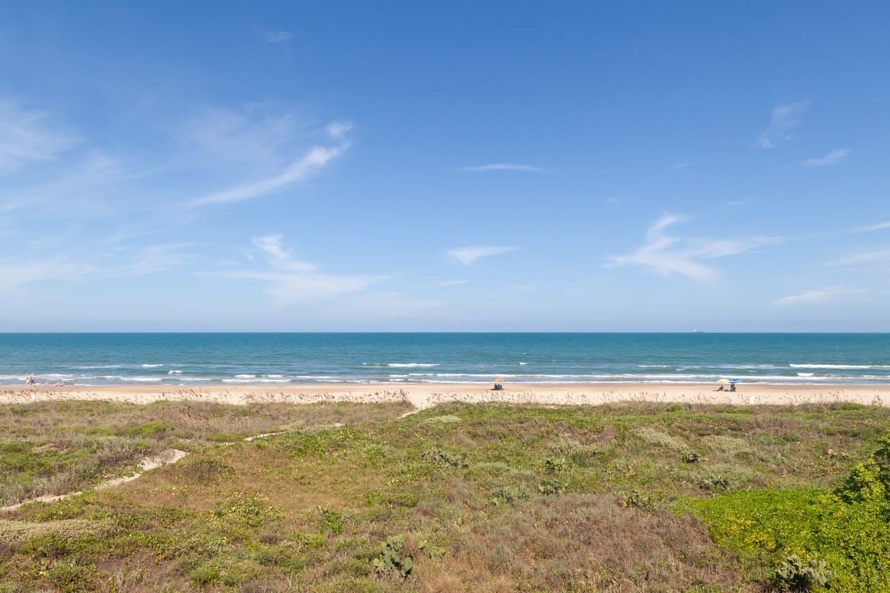 South Padre Island, TX beach