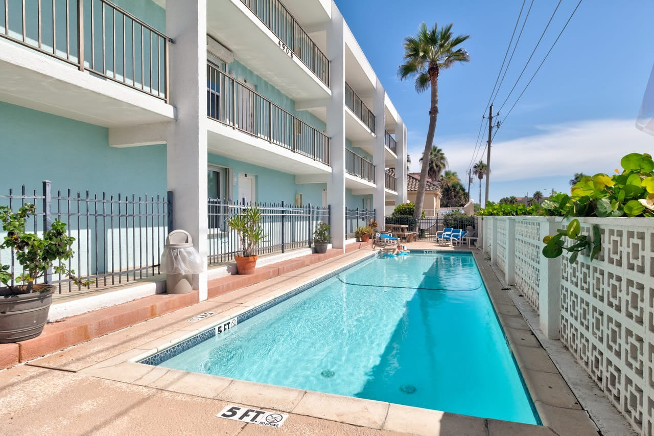 Vacation rental in South Padre Island, TX with outdoor pool