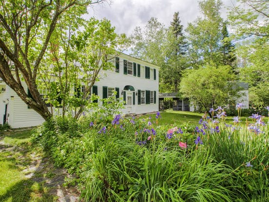 Historic home in Paris, ME with sweeping mountain valley views