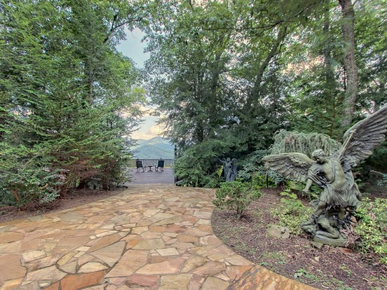 Blairsville, GA chateau with a private chapel on 21 acres