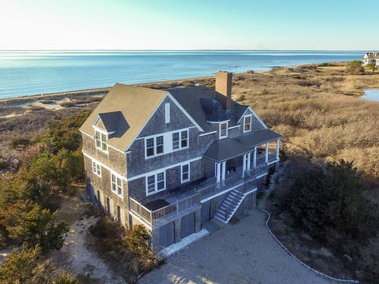 Falmouth, MA bayfront home with stunning views