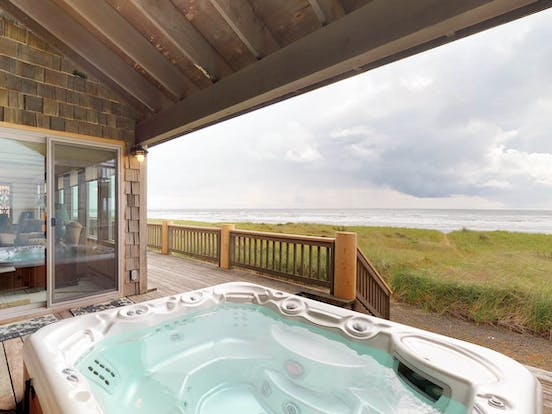 Westport, WA vacation rental with private hot tub