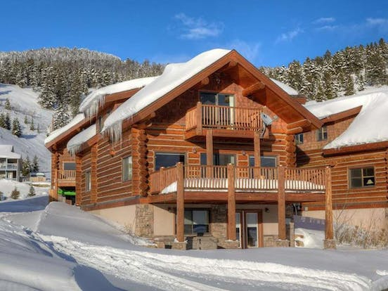 West Yellowstone, MT vacation rental with two decks